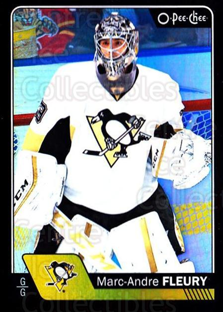 2016-17 O-Pee-Chee Rainbow Black #91 Marc-Andre Fleury<br/>1 In Stock - $5.00 each - <a href=https://centericecollectibles.foxycart.com/cart?name=2016-17%20O-Pee-Chee%20Rainbow%20Black%20%2391%20Marc-Andre%20Fleu...&quantity_max=1&price=$5.00&code=720441 class=foxycart> Buy it now! </a>