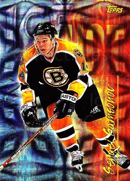 1998-99 Topps Seasons Best #8 Sergei Samsonov<br/>10 In Stock - $3.00 each - <a href=https://centericecollectibles.foxycart.com/cart?name=1998-99%20Topps%20Seasons%20Best%20%238%20Sergei%20Samsonov...&quantity_max=10&price=$3.00&code=72105 class=foxycart> Buy it now! </a>