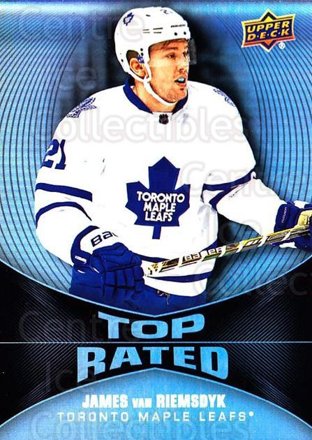 2016-17 Upper Deck Overtime Top Rated #19 James van Riemsdyk<br/>4 In Stock - $3.00 each - <a href=https://centericecollectibles.foxycart.com/cart?name=2016-17%20Upper%20Deck%20Overtime%20Top%20Rated%20%2319%20James%20van%20Riems...&quantity_max=4&price=$3.00&code=721079 class=foxycart> Buy it now! </a>