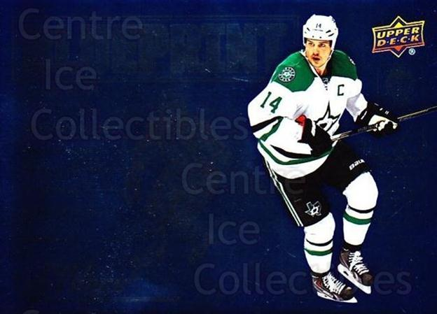 2015-16 Upper Deck Full Force Blueprint #JB Jamie Benn<br/>2 In Stock - $3.00 each - <a href=https://centericecollectibles.foxycart.com/cart?name=2015-16%20Upper%20Deck%20Full%20Force%20Blueprint%20%23JB%20Jamie%20Benn...&quantity_max=2&price=$3.00&code=721098 class=foxycart> Buy it now! </a>