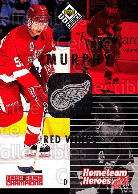 1998-99 UD Choice Hometeam Heroes #14 Larry Murphy<br/>5 In Stock - $2.00 each - <a href=https://centericecollectibles.foxycart.com/cart?name=1998-99%20UD%20Choice%20Hometeam%20Heroes%20%2314%20Larry%20Murphy...&quantity_max=5&price=$2.00&code=72112 class=foxycart> Buy it now! </a>