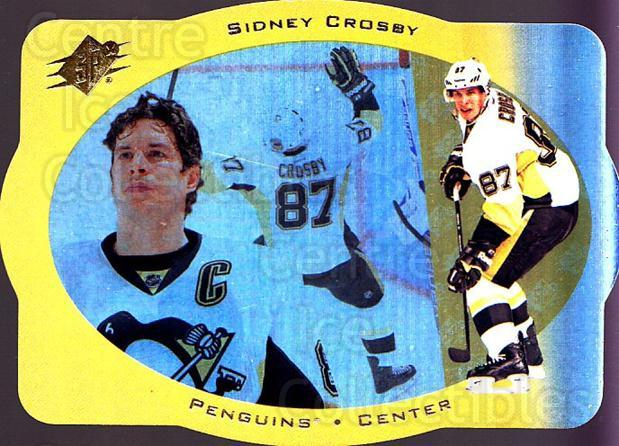 2013-14 SPx 96-97 SPx Retro #20 Sidney Crosby<br/>1 In Stock - $10.00 each - <a href=https://centericecollectibles.foxycart.com/cart?name=2013-14%20SPx%2096-97%20SPx%20Retro%20%2320%20Sidney%20Crosby...&quantity_max=1&price=$10.00&code=721229 class=foxycart> Buy it now! </a>