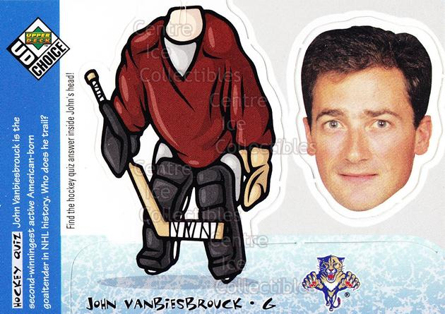 1998-99 UD Choice Bobbing Head #10 John Vanbiesbrouck<br/>4 In Stock - $2.00 each - <a href=https://centericecollectibles.foxycart.com/cart?name=1998-99%20UD%20Choice%20Bobbing%20Head%20%2310%20John%20Vanbiesbro...&quantity_max=4&price=$2.00&code=72126 class=foxycart> Buy it now! </a>