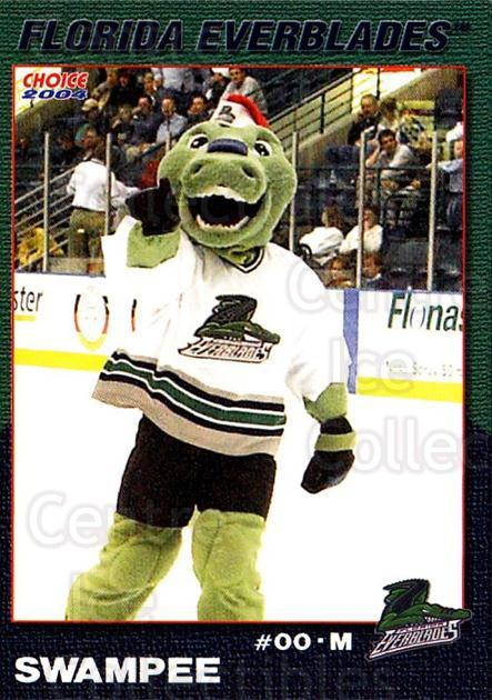 2003-04 Florida Everblades #22 Mascot<br/>2 In Stock - $3.00 each - <a href=https://centericecollectibles.foxycart.com/cart?name=2003-04%20Florida%20Everblades%20%2322%20Mascot...&price=$3.00&code=721281 class=foxycart> Buy it now! </a>