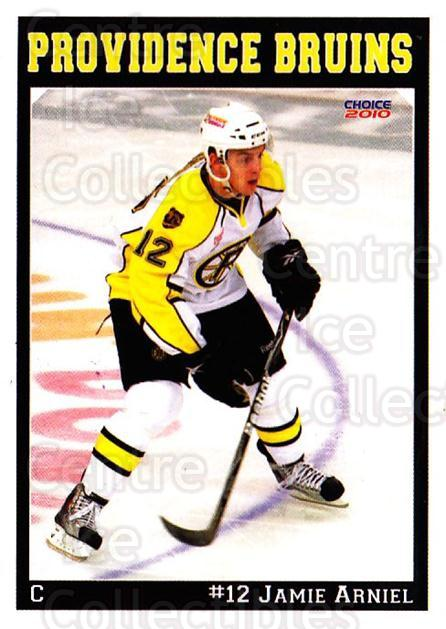 2009-10 Providence Bruins #1 Jamie Arniel<br/>1 In Stock - $3.00 each - <a href=https://centericecollectibles.foxycart.com/cart?name=2009-10%20Providence%20Bruins%20%231%20Jamie%20Arniel...&quantity_max=1&price=$3.00&code=721285 class=foxycart> Buy it now! </a>