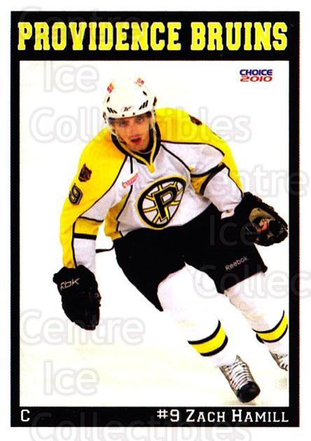 2009-10 Providence Bruins #5 Zach Hamill<br/>1 In Stock - $3.00 each - <a href=https://centericecollectibles.foxycart.com/cart?name=2009-10%20Providence%20Bruins%20%235%20Zach%20Hamill...&quantity_max=1&price=$3.00&code=721289 class=foxycart> Buy it now! </a>