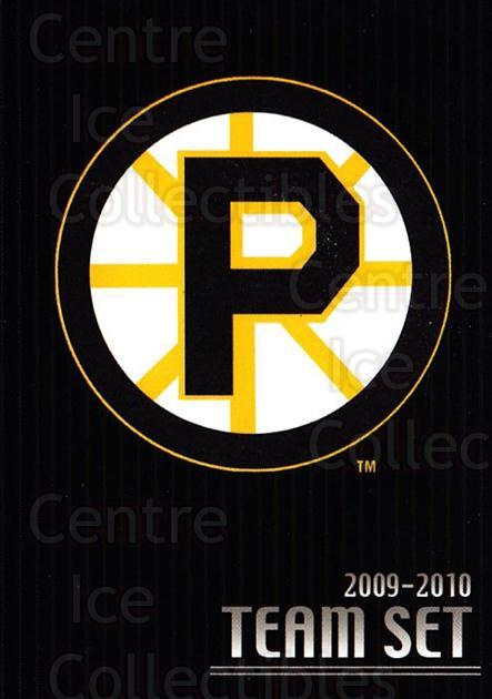 2009-10 Providence Bruins #26 Providence Bruins, Checklist<br/>1 In Stock - $3.00 each - <a href=https://centericecollectibles.foxycart.com/cart?name=2009-10%20Providence%20Bruins%20%2326%20Providence%20Brui...&quantity_max=1&price=$3.00&code=721310 class=foxycart> Buy it now! </a>