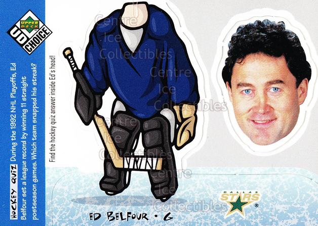 1998-99 UD Choice Bobbing Head #26 Ed Belfour<br/>6 In Stock - $2.00 each - <a href=https://centericecollectibles.foxycart.com/cart?name=1998-99%20UD%20Choice%20Bobbing%20Head%20%2326%20Ed%20Belfour...&price=$2.00&code=72141 class=foxycart> Buy it now! </a>