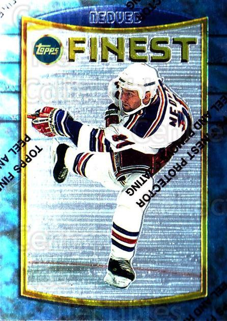 1994-95 Finest #101 Petr Nedved<br/>6 In Stock - $1.00 each - <a href=https://centericecollectibles.foxycart.com/cart?name=1994-95%20Finest%20%23101%20Petr%20Nedved...&quantity_max=6&price=$1.00&code=721 class=foxycart> Buy it now! </a>