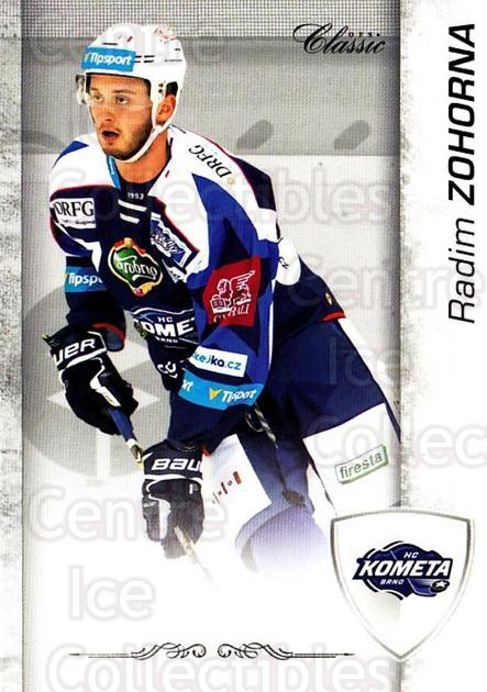 2017-18 Czech OFS Classic Team Edition #316 Radim Zohorna<br/>1 In Stock - $3.00 each - <a href=https://centericecollectibles.foxycart.com/cart?name=2017-18%20Czech%20OFS%20Classic%20Team%20Edition%20%23316%20Radim%20Zohorna...&quantity_max=1&price=$3.00&code=722128 class=foxycart> Buy it now! </a>