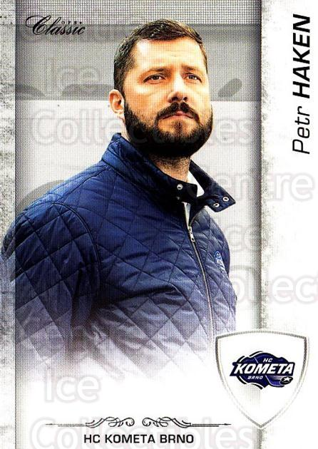 2017-18 Czech OFS Classic Team Edition #318 Petr Haken<br/>1 In Stock - $3.00 each - <a href=https://centericecollectibles.foxycart.com/cart?name=2017-18%20Czech%20OFS%20Classic%20Team%20Edition%20%23318%20Petr%20Haken...&quantity_max=1&price=$3.00&code=722130 class=foxycart> Buy it now! </a>
