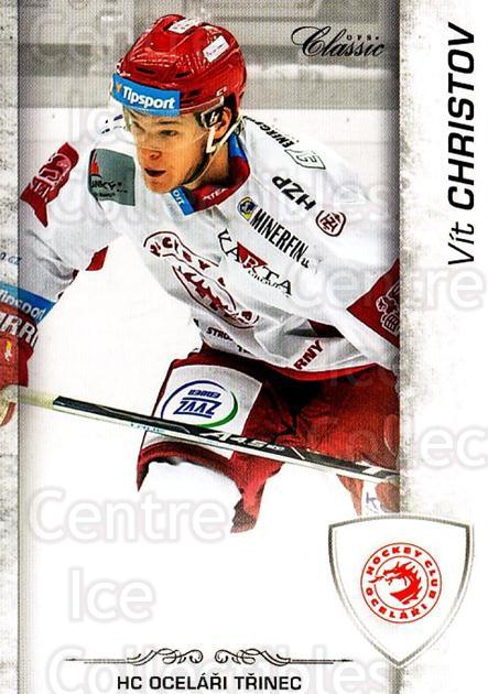 2017-18 Czech OFS Classic Team Edition #433 Vit Christov<br/>1 In Stock - $3.00 each - <a href=https://centericecollectibles.foxycart.com/cart?name=2017-18%20Czech%20OFS%20Classic%20Team%20Edition%20%23433%20Vit%20Christov...&quantity_max=1&price=$3.00&code=722415 class=foxycart> Buy it now! </a>