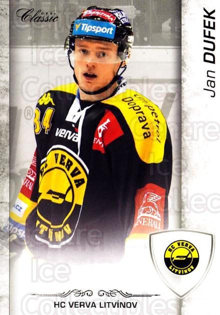 2017-18 Czech OFS Classic Team Edition #451 Jan Dufek<br/>1 In Stock - $3.00 each - <a href=https://centericecollectibles.foxycart.com/cart?name=2017-18%20Czech%20OFS%20Classic%20Team%20Edition%20%23451%20Jan%20Dufek...&price=$3.00&code=722433 class=foxycart> Buy it now! </a>