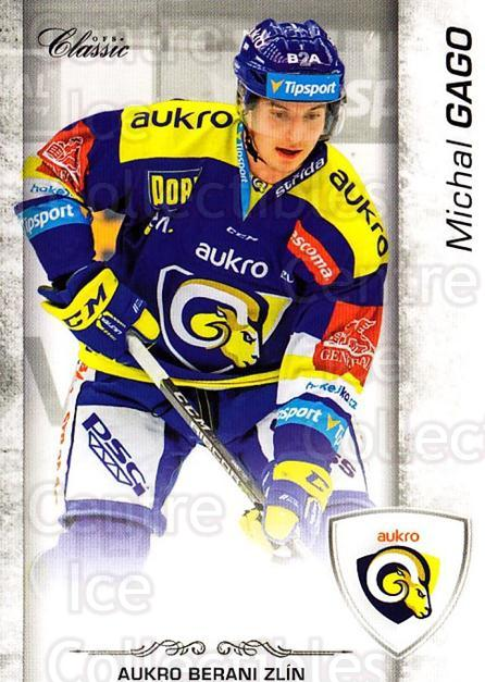 2017-18 Czech OFS Classic Team Edition #481 Michal Gago<br/>1 In Stock - $3.00 each - <a href=https://centericecollectibles.foxycart.com/cart?name=2017-18%20Czech%20OFS%20Classic%20Team%20Edition%20%23481%20Michal%20Gago...&quantity_max=1&price=$3.00&code=722463 class=foxycart> Buy it now! </a>