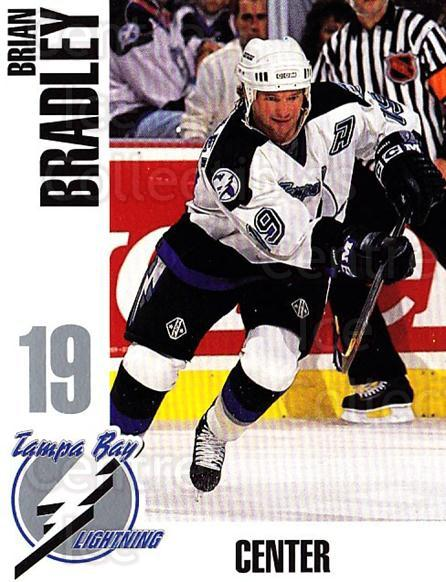 1993-94 Tampa Bay Lightning Skybox Cafe #3 Brian Bradley<br/>1 In Stock - $3.00 each - <a href=https://centericecollectibles.foxycart.com/cart?name=1993-94%20Tampa%20Bay%20Lightning%20Skybox%20Cafe%20%233%20Brian%20Bradley...&quantity_max=1&price=$3.00&code=723334 class=foxycart> Buy it now! </a>