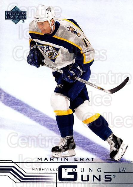2001-02 Upper Deck Retail #430R Martin Erat<br/>3 In Stock - $5.00 each - <a href=https://centericecollectibles.foxycart.com/cart?name=2001-02%20Upper%20Deck%20Retail%20%23430R%20Martin%20Erat...&quantity_max=3&price=$5.00&code=723409 class=foxycart> Buy it now! </a>