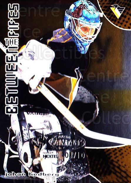 2001-02 Between the Pipes AS Fantasy Redemption #42 Johan Hedberg<br/>1 In Stock - $10.00 each - <a href=https://centericecollectibles.foxycart.com/cart?name=2001-02%20Between%20the%20Pipes%20AS%20Fantasy%20Redemption%20%2342%20Johan%20Hedberg...&quantity_max=1&price=$10.00&code=723511 class=foxycart> Buy it now! </a>