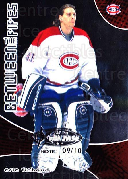 2001-02 Between the Pipes AS Fantasy Redemption #51 Eric Fichaud<br/>1 In Stock - $10.00 each - <a href=https://centericecollectibles.foxycart.com/cart?name=2001-02%20Between%20the%20Pipes%20AS%20Fantasy%20Redemption%20%2351%20Eric%20Fichaud...&price=$10.00&code=723519 class=foxycart> Buy it now! </a>