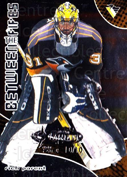2001-02 Between the Pipes AS Fantasy Redemption #53 Rich Parent<br/>1 In Stock - $10.00 each - <a href=https://centericecollectibles.foxycart.com/cart?name=2001-02%20Between%20the%20Pipes%20AS%20Fantasy%20Redemption%20%2353%20Rich%20Parent...&quantity_max=1&price=$10.00&code=723521 class=foxycart> Buy it now! </a>