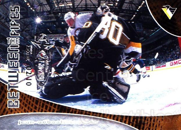 2001-02 Between the Pipes AS Fantasy Redemption #96 Jean-Sebastien Aubin<br/>1 In Stock - $10.00 each - <a href=https://centericecollectibles.foxycart.com/cart?name=2001-02%20Between%20the%20Pipes%20AS%20Fantasy%20Redemption%20%2396%20Jean-Sebastien%20...&quantity_max=1&price=$10.00&code=723562 class=foxycart> Buy it now! </a>