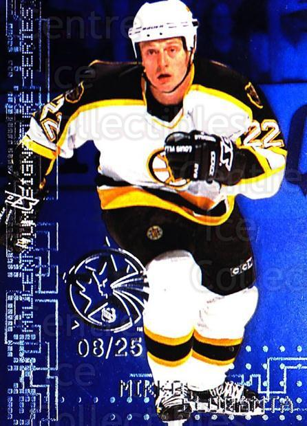 1999-00 BAP Millennium AS Game Sapphire #27 Mikko Eloranta<br/>1 In Stock - $10.00 each - <a href=https://centericecollectibles.foxycart.com/cart?name=1999-00%20BAP%20Millennium%20AS%20Game%20Sapphire%20%2327%20Mikko%20Eloranta...&quantity_max=1&price=$10.00&code=723612 class=foxycart> Buy it now! </a>