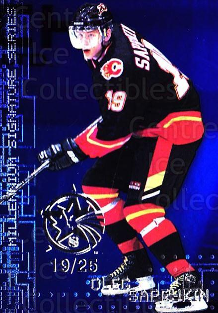 1999-00 BAP Millennium AS Game Sapphire #41 Oleg Saprykin<br/>1 In Stock - $10.00 each - <a href=https://centericecollectibles.foxycart.com/cart?name=1999-00%20BAP%20Millennium%20AS%20Game%20Sapphire%20%2341%20Oleg%20Saprykin...&quantity_max=1&price=$10.00&code=723626 class=foxycart> Buy it now! </a>