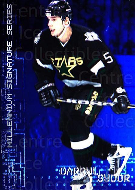 1999-00 BAP Millennium AS Game Sapphire #85 Darryl Sydor<br/>1 In Stock - $10.00 each - <a href=https://centericecollectibles.foxycart.com/cart?name=1999-00%20BAP%20Millennium%20AS%20Game%20Sapphire%20%2385%20Darryl%20Sydor...&quantity_max=1&price=$10.00&code=723664 class=foxycart> Buy it now! </a>