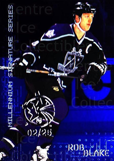 1999-00 BAP Millennium AS Game Sapphire #118 Rob Blake<br/>1 In Stock - $10.00 each - <a href=https://centericecollectibles.foxycart.com/cart?name=1999-00%20BAP%20Millennium%20AS%20Game%20Sapphire%20%23118%20Rob%20Blake...&quantity_max=1&price=$10.00&code=723717 class=foxycart> Buy it now! </a>