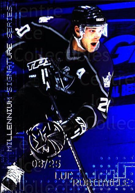1999-00 BAP Millennium AS Game Sapphire #122 Luc Robitaille<br/>1 In Stock - $10.00 each - <a href=https://centericecollectibles.foxycart.com/cart?name=1999-00%20BAP%20Millennium%20AS%20Game%20Sapphire%20%23122%20Luc%20Robitaille...&quantity_max=1&price=$10.00&code=723722 class=foxycart> Buy it now! </a>