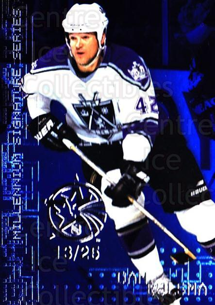 1999-00 BAP Millennium AS Game Sapphire #124 Dan Bylsma<br/>1 In Stock - $10.00 each - <a href=https://centericecollectibles.foxycart.com/cart?name=1999-00%20BAP%20Millennium%20AS%20Game%20Sapphire%20%23124%20Dan%20Bylsma...&quantity_max=1&price=$10.00&code=723724 class=foxycart> Buy it now! </a>