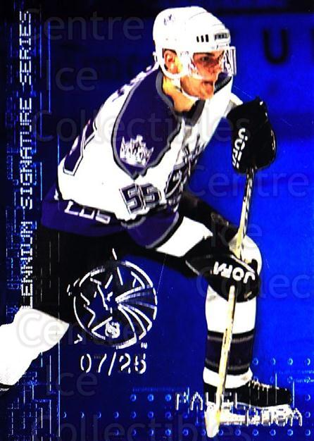 1999-00 BAP Millennium AS Game Sapphire #125 Pavel Rosa<br/>1 In Stock - $10.00 each - <a href=https://centericecollectibles.foxycart.com/cart?name=1999-00%20BAP%20Millennium%20AS%20Game%20Sapphire%20%23125%20Pavel%20Rosa...&quantity_max=1&price=$10.00&code=723725 class=foxycart> Buy it now! </a>