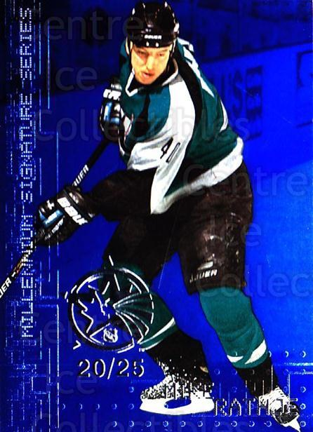 1999-00 BAP Millennium AS Game Sapphire #209 Mike Rathje<br/>1 In Stock - $10.00 each - <a href=https://centericecollectibles.foxycart.com/cart?name=1999-00%20BAP%20Millennium%20AS%20Game%20Sapphire%20%23209%20Mike%20Rathje...&quantity_max=1&price=$10.00&code=723745 class=foxycart> Buy it now! </a>