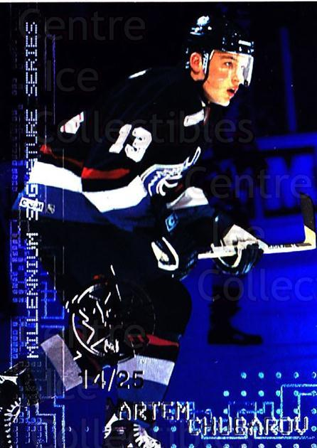 1999-00 BAP Millennium AS Game Sapphire #233 Artem Chubarov<br/>1 In Stock - $10.00 each - <a href=https://centericecollectibles.foxycart.com/cart?name=1999-00%20BAP%20Millennium%20AS%20Game%20Sapphire%20%23233%20Artem%20Chubarov...&quantity_max=1&price=$10.00&code=723770 class=foxycart> Buy it now! </a>
