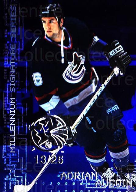 1999-00 BAP Millennium AS Game Sapphire #238 Adrian Aucoin<br/>1 In Stock - $10.00 each - <a href=https://centericecollectibles.foxycart.com/cart?name=1999-00%20BAP%20Millennium%20AS%20Game%20Sapphire%20%23238%20Adrian%20Aucoin...&quantity_max=1&price=$10.00&code=723775 class=foxycart> Buy it now! </a>
