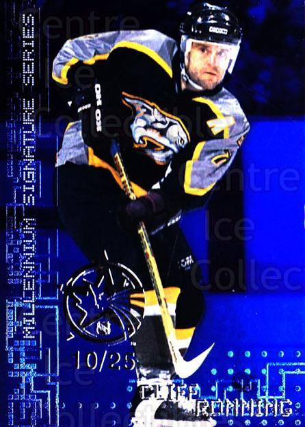 1999-00 BAP Millennium AS Game Sapphire #137 Cliff Ronning<br/>1 In Stock - $10.00 each - <a href=https://centericecollectibles.foxycart.com/cart?name=1999-00%20BAP%20Millennium%20AS%20Game%20Sapphire%20%23137%20Cliff%20Ronning...&quantity_max=1&price=$10.00&code=723789 class=foxycart> Buy it now! </a>