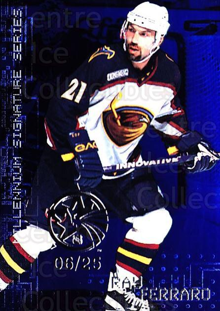1999-00 BAP Millennium AS Game Sapphire #14 Ray Ferraro<br/>1 In Stock - $10.00 each - <a href=https://centericecollectibles.foxycart.com/cart?name=1999-00%20BAP%20Millennium%20AS%20Game%20Sapphire%20%2314%20Ray%20Ferraro...&quantity_max=1&price=$10.00&code=723792 class=foxycart> Buy it now! </a>