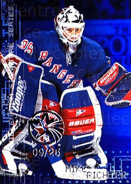 1999-00 BAP Millennium AS Game Sapphire #168 Mike Richter<br/>1 In Stock - $10.00 each - <a href=https://centericecollectibles.foxycart.com/cart?name=1999-00%20BAP%20Millennium%20AS%20Game%20Sapphire%20%23168%20Mike%20Richter...&quantity_max=1&price=$10.00&code=723814 class=foxycart> Buy it now! </a>