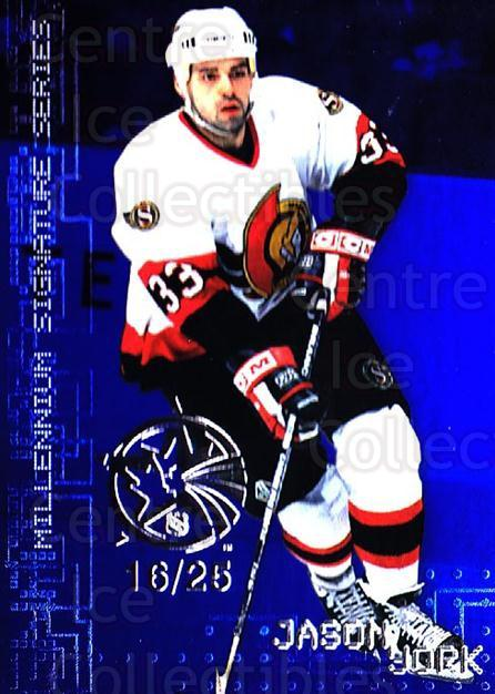 1999-00 BAP Millennium AS Game Sapphire #175 Jason York<br/>1 In Stock - $10.00 each - <a href=https://centericecollectibles.foxycart.com/cart?name=1999-00%20BAP%20Millennium%20AS%20Game%20Sapphire%20%23175%20Jason%20York...&quantity_max=1&price=$10.00&code=723822 class=foxycart> Buy it now! </a>