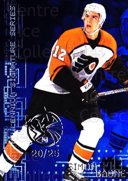 1999-00 BAP Millennium AS Game Sapphire #183 Simon Gagne<br/>1 In Stock - $10.00 each - <a href=https://centericecollectibles.foxycart.com/cart?name=1999-00%20BAP%20Millennium%20AS%20Game%20Sapphire%20%23183%20Simon%20Gagne...&quantity_max=1&price=$10.00&code=723831 class=foxycart> Buy it now! </a>