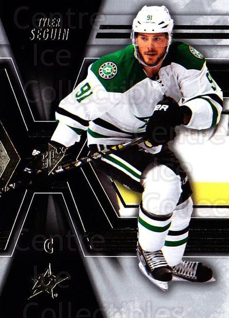 2014-15 Spx #24 Tyler Seguin<br/>3 In Stock - $2.00 each - <a href=https://centericecollectibles.foxycart.com/cart?name=2014-15%20Spx%20%2324%20Tyler%20Seguin...&quantity_max=3&price=$2.00&code=723968 class=foxycart> Buy it now! </a>