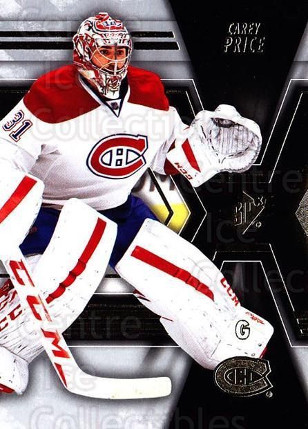 2014-15 Spx #44 Carey Price<br/>1 In Stock - $3.00 each - <a href=https://centericecollectibles.foxycart.com/cart?name=2014-15%20Spx%20%2344%20Carey%20Price...&quantity_max=1&price=$3.00&code=723988 class=foxycart> Buy it now! </a>