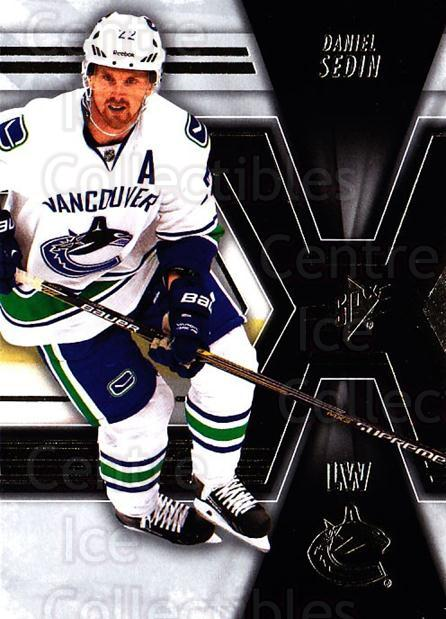 2014-15 Spx #83 Daniel Sedin<br/>3 In Stock - $1.00 each - <a href=https://centericecollectibles.foxycart.com/cart?name=2014-15%20Spx%20%2383%20Daniel%20Sedin...&quantity_max=3&price=$1.00&code=724027 class=foxycart> Buy it now! </a>