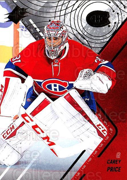 2015-16 Spx #2 Carey Price<br/>1 In Stock - $3.00 each - <a href=https://centericecollectibles.foxycart.com/cart?name=2015-16%20Spx%20%232%20Carey%20Price...&quantity_max=1&price=$3.00&code=724178 class=foxycart> Buy it now! </a>