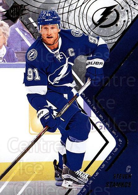 2015-16 Spx #23 Steven Stamkos<br/>2 In Stock - $2.00 each - <a href=https://centericecollectibles.foxycart.com/cart?name=2015-16%20Spx%20%2323%20Steven%20Stamkos...&quantity_max=2&price=$2.00&code=724199 class=foxycart> Buy it now! </a>