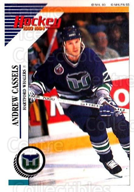 1993-94 Panini Stickers #123 Andrew Cassels<br/>4 In Stock - $1.00 each - <a href=https://centericecollectibles.foxycart.com/cart?name=1993-94%20Panini%20Stickers%20%23123%20Andrew%20Cassels...&quantity_max=4&price=$1.00&code=7241 class=foxycart> Buy it now! </a>
