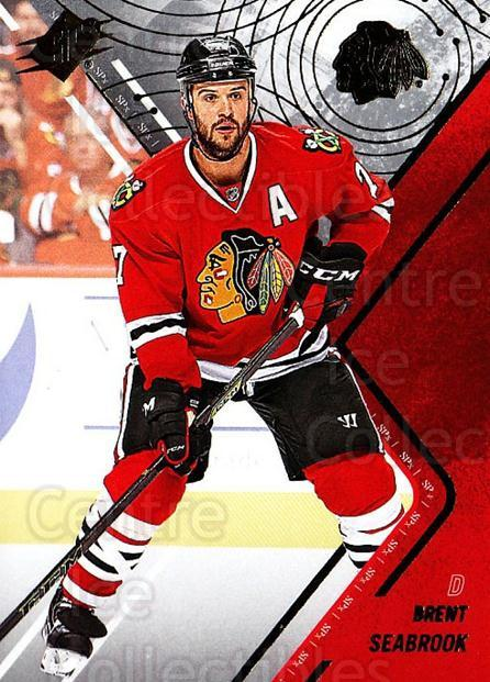 2015-16 Spx #50 Brent Seabrook<br/>1 In Stock - $1.00 each - <a href=https://centericecollectibles.foxycart.com/cart?name=2015-16%20Spx%20%2350%20Brent%20Seabrook...&quantity_max=1&price=$1.00&code=724226 class=foxycart> Buy it now! </a>