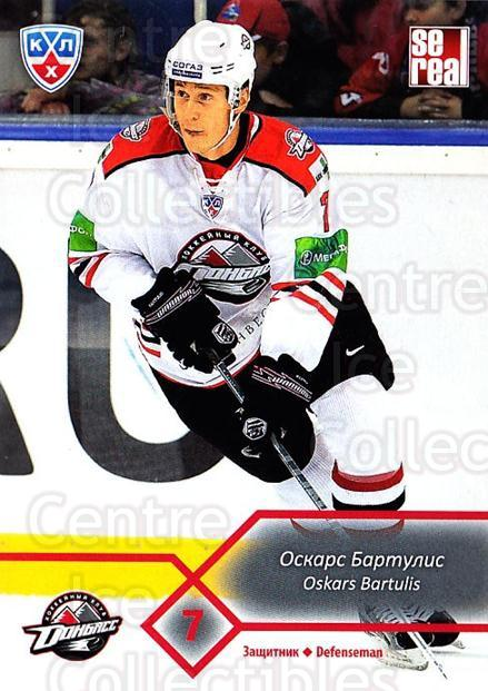 2012-13 Russian KHL #K04 Oskars Bartulis<br/>2 In Stock - $2.00 each - <a href=https://centericecollectibles.foxycart.com/cart?name=2012-13%20Russian%20KHL%20%23K04%20Oskars%20Bartulis...&quantity_max=2&price=$2.00&code=724556 class=foxycart> Buy it now! </a>
