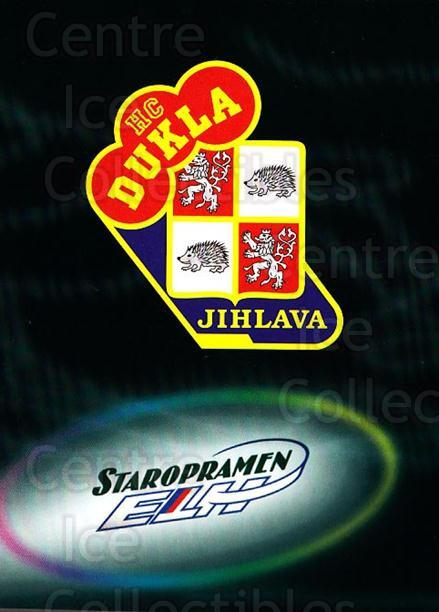 1998-99 Czech OFS Team Cards #3 HC Dukla Jihlava<br/>1 In Stock - $3.00 each - <a href=https://centericecollectibles.foxycart.com/cart?name=1998-99%20Czech%20OFS%20Team%20Cards%20%233%20HC%20Dukla%20Jihlav...&quantity_max=1&price=$3.00&code=724842 class=foxycart> Buy it now! </a>