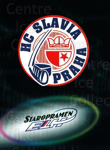 1998-99 Czech OFS Team Cards #8 HC Slavia Praha<br/>1 In Stock - $3.00 each - <a href=https://centericecollectibles.foxycart.com/cart?name=1998-99%20Czech%20OFS%20Team%20Cards%20%238%20HC%20Slavia%20Praha...&quantity_max=1&price=$3.00&code=724845 class=foxycart> Buy it now! </a>