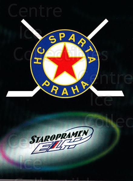 1998-99 Czech OFS Team Cards #10 HC Sparta Praha<br/>1 In Stock - $3.00 each - <a href=https://centericecollectibles.foxycart.com/cart?name=1998-99%20Czech%20OFS%20Team%20Cards%20%2310%20HC%20Sparta%20Praha...&quantity_max=1&price=$3.00&code=724847 class=foxycart> Buy it now! </a>